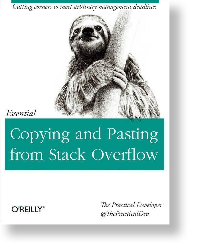 Full Stack Developer - O'reilly copy and paste book